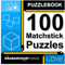 Puzzlebook: 100 Matchstick Puzzles by The Grabarchuk Family