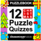 Puzzlebook: 12 Christmas Puzzle Quizzes by The Grabarchuk Family